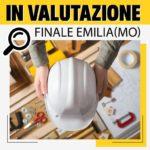 FINALE EMILIA Investimenti Immobiliari IN VALUTAZIONE